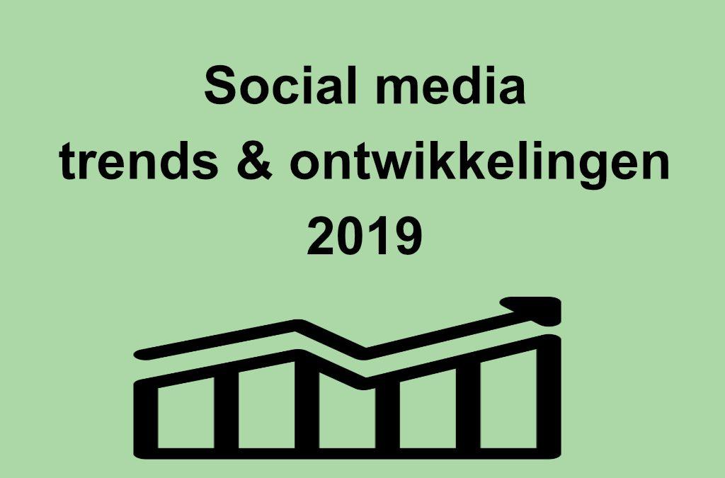 De online marketing ontwikkelingen in begin 2019