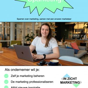 sparketing - sparren met een ervaren marketeer - IN ZICHT Marketing