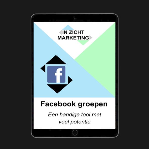 Cover ebook facebook groepen - IN ZICHT Marketing