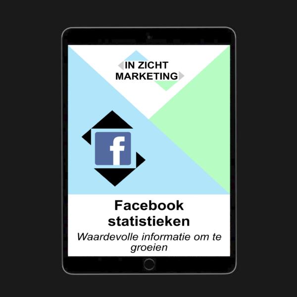 Cover ebook facebook statistieken - IN ZICHT Marketing