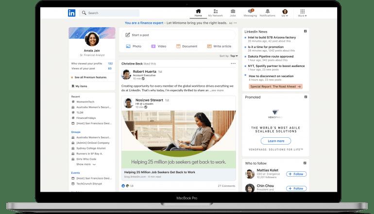 Uiterlijk LinkedIn update - IN ZICHT Marketing