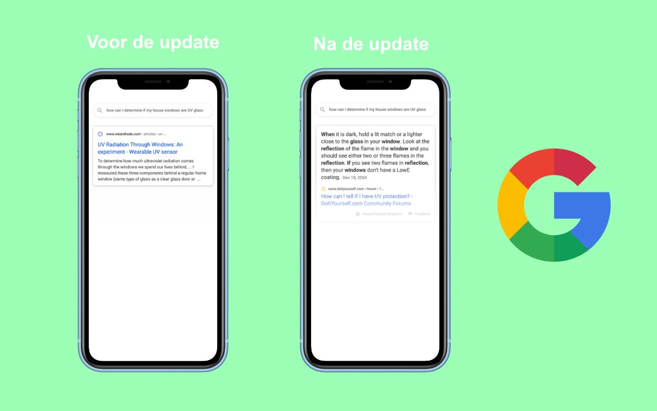 Algoritme van Google weer op de schop - IN ZICHT Marketing