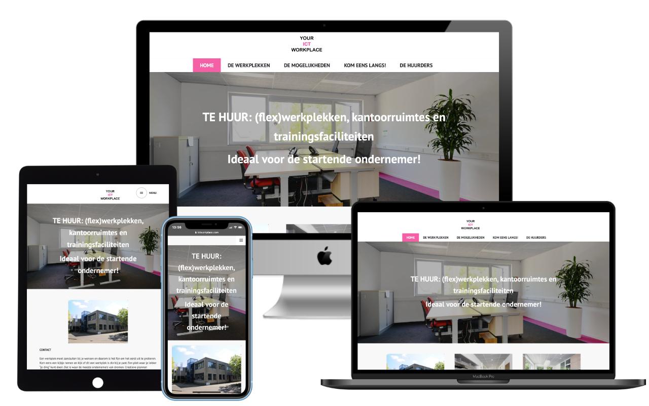 Website ICT Workplace - IN ZICHT Marketing